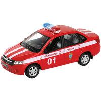 """Модель машины 1:34-39 LADA Granta """"Пожарная охрана"""", Welly"""