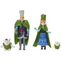 """Куклы Анна и Кристоф """"Холодное Сердце"""", в наборе с 2 троллями, Принцессы Дисней Mattel"""