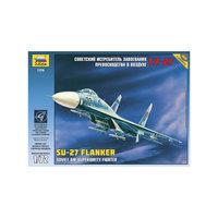 """Сборная модель самолета """"Су-27"""", Звезда"""