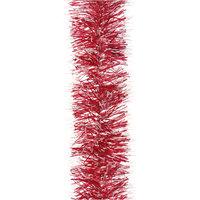 Мишура 6 слоев, 7 см х 2 м, цвет - красный Волшебная Страна