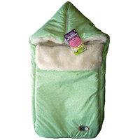Конверт меховой в коляску, 0-6 мес., Baby Nice, зеленый