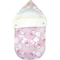 Конверт в коляску JustCute Плюшевые мишки, СуперМаМкет, розовый