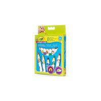 Набор толстых карандашей для малышей, 8 шт., Crayola