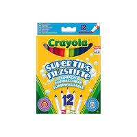 Набор из 12 смываемых фломастеров, Crayola