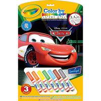 """Раскраска по номерам """"Тачки"""", Crayola"""