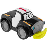 Машинка Turbo Touch Crash, черная, Chicco
