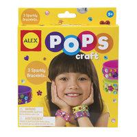 """Набор для творчества POPS CRAFT """"Создай 3 блестящих браслета со стразами"""" ALEX"""