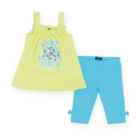 Комплект для девочки: платье и капри BLUE SEVEN