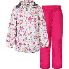 Комплект для девочки: куртка и брюки Luhta