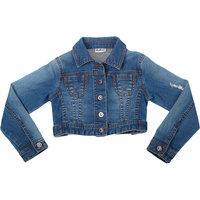 Джинсовая куртка для девочки Gulliver