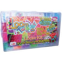 Большой набор для плетения браслетов в боксе (2000 резиночек) Loom Twister