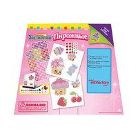 """Мозаика-наклейки """"Пирожные"""" 8 шт, Оригами Origami"""