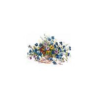 Набор для вышивания крестом «Цветы лета» Чудесная игла