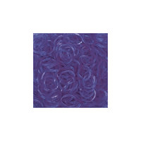 Гелевые резиночки - Фиолетовый(24 клипсы+600 рез.), Rainbow Loom