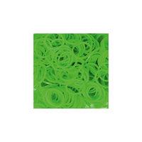 Резиночки  Неоновый зелёный (24 клипсы+600 рез.), Rainbow Loom