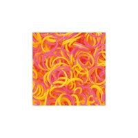 Резиночки Неоновый микс (Розовый и желтый),Rainbow Loom