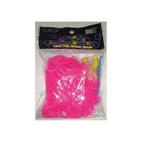 Набор для плетения браслетов из резиночек Loom Bands, розовый