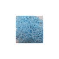 Резиночки блестящий голубой(12 с-клипс+300 резиночек), Rainbow Loom