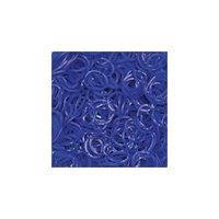 Темно-синие гелевые резиночки (24 с-клипсы+600 резиночек), Rainbow Loom