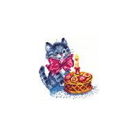 Набор для вышивания крестом «День рождения» Чудесная игла