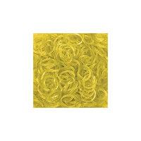 Желтые гелевые резиночки (24 с-клипсы+600 резиночек), Rainbow Loom