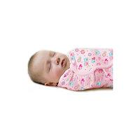 Конверт для пеленания на липучке SWADDLEME, р-р S/M, 3-6 кг., розовый влюбленные совы Summer Infant