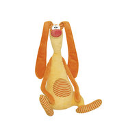 Мягкая игрушка Зайка улыбайка, Fancy, 38 см