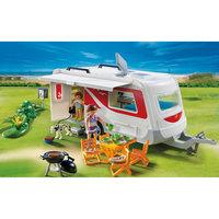 PLAYMOBIL 5434 Каникулы: Семейный автоприцеп Playmobil®
