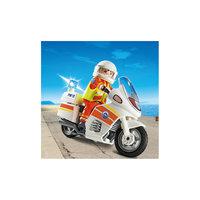 PLAYMOBIL 5544 Береговая охрана: Мотоцикл первой помощи с мигалкой Playmobil®