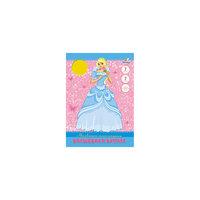 """Самоклеющаяся бумага """"Принцесса Кристал"""" (7 цветов, 7 листов) -"""