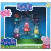 """Игровой набор """"Пеппа и друзья"""" 6 фигурок, Свинка Пеппа Росмэн"""
