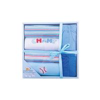 Комплект для мальчика: футболка, 2 шт., штанишки, 2 шт., боди, 2 шт. для мальчика Luvable Friends