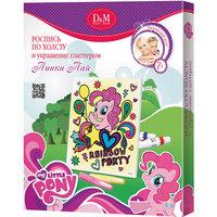 """Роспись по холсту """"Пинки Пай"""" 25х30 см, My Little Pony"""