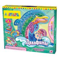 """Мозаика-набор """"Дельфины"""" (4 шт), Оригами Origami"""