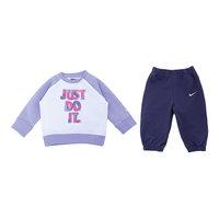 Спортивный костюм для девочки LS BF GFX CREW WARM UP INF Nike