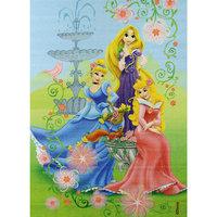 """Ковер """"В королевском саду"""" 133*195 см, Принцессы Дисней ВЕНЕРА"""