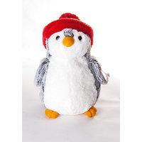 """Мягкая игрушка """"Пингвин в красной шапке"""", 30 см., AURORA"""