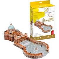 """Пазл 3D """"Собор Святого Петра (Ватикан, Италия)"""", 144 детали, CubicFun"""