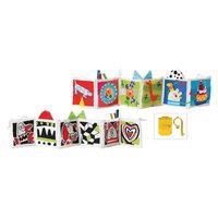 Развивающая книжка Kooky, с клипсами TAF Toys