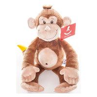 """Мягкая игрушка """"Обезьянка с бананом"""", 33 см., AURORA"""