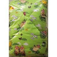 Одеяло холлофайбер 110*140, Letto, зеленый