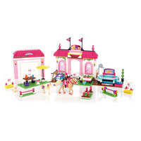 "Конструктор ""Конюшня Барби"", Barbie Mega Bloks"