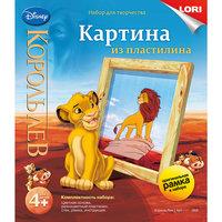 """Картина из пластилина """"Король лев"""", LORI"""