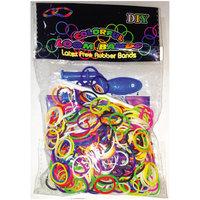 Набор для плетения браслетов из резиночек Loom Bands, микс