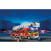 PLAYMOBIL 5362 Пожарная служба: Пожарная машина с лестницей со светом и звуком Playmobil®