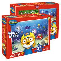 """Пазл """"Пингвиненок Пороро: Подводный мир"""", 35 MAXI деталей, Origami"""