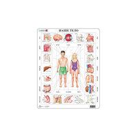 """Пазл """"Наше тело"""",  Larsen, 35 деталей"""