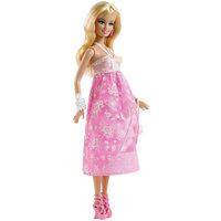 Кукла в розовом вечернем платье, Barbie Mattel