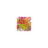 Резиночки Неон-Микс (300шт + 12 клипс), Rainbow Loom