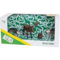 Набор 4 фигурок лесных животных, Animal Planet Mojo
